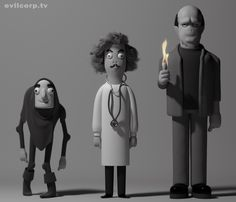 More Awesome Vinyl Toy Designs By A Large Evil Corporation: Young Frankenstein