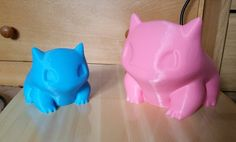 Something we liked from Instagram! The two together #3dprinting #3dprint #3printed #pokemon #thingiverse #reprap #arduino #diy #3dprinter #blue #squirtle #nerd #geek #design #home #decoration #vase #art #pikachu #bulbasaur #charmander #gaming #gamer #anime #comiccon #Nintendo #pink #colourful #garden #etsy by carmenl94 check us out: http://bit.ly/1KyLetq
