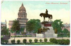 Albert Memorial Postcard, Edinburgh