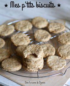 Biscuits pour bébé dès 8/9 mois