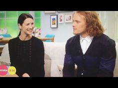 *VIDEO* Sam Heughan & Caitriona Balfe's Interview on The Lorraine Show | Outlander Online
