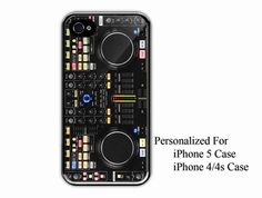 iPhone 4/4s Case  Dj Set NS7 Denon MC6000  iPhone by NiceFaceShop, $15.00