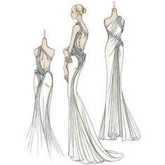 Versace Atelier Greek drape dress