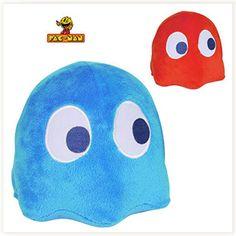Peluche Fantôme Pac-Man Sonore #pacman #inky #blinky #peluche
