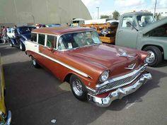 2013 Goodguys Southwest Nationals - 56 Chevy Bel Air  4 door wagon