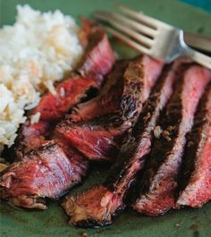 Vietnamese-Style Steak-  One of our favorite cookbooks of all time is Andrea Nguyen's Into the Vietnamese Kitchen