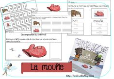 Petite Section, Grande Section, Mittens, Growing Up, Language, Classroom, Learning, Winter, Voici