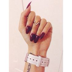 valentine acrylic nails tumblr