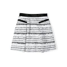 Spring fashion must-have: The textured mini In seasonless tweed and a hip- slimming shape, this is the skirt you'll wear everywhere.  Rebecca Taylor, $295, shop.glamour.com