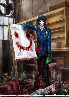 Creepypasta Origins ,Headcanons,One-Shots ,a Some Random Horror Stories - Origin : Bloody Painter Jeff The Killer, Creepy Stories, Horror Stories, Manga, Creepy Pasta Family, Eyeless Jack, Arte Horror, Creepy Art, Creepy Stuff