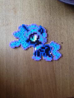 Nightmare Moon. My little pony. Bead pattern.