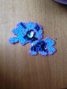 Nightmare Moon. My little pony. Bead pattern.