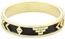 House of Harlow 1960 14k Yellow Gold-Plated Aztec Bangle