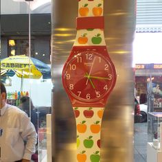 #Swatch Maxi APPLETINI