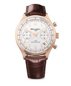 William L. 1985 – Chronographs – Vintage Chronograph – Roségold/Braun