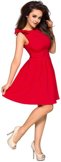 Dream it Wear it - Bow Detail Skater Dress Red, £39.95 (http://www.dreamitwearit.com/dresses/skater-dresses/bow-detail-skater-dress-red/)