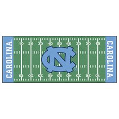 Show Your Team Spirit By Adding This Great Looking Quality College Football Runner Rug To