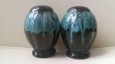 Check out this item in my Etsy shop https://www.etsy.com/ca/listing/506020716/blue-mountain-pottery-salt-and-pepper