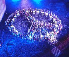 cérémonie ouverture JO message of peace