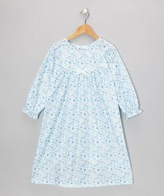Take a look at this Blue Stars & Moon Nightgown - Toddler & Girls by Cozytime on #zulily today!
