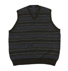 #Vintage #BrooksBrothers Wool Striped Sweater Vest #Mens Size Medium #menswear #mensfashion