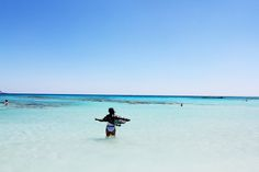 Travel: Elafonissi Beach, Crete and Beach Outfit Crete, Diaries, Travelling, Beach, Places, Water, Outdoor, Outfits, Gripe Water