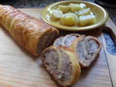 Jemná kuřecí roláda :: Lenůlina kuchařka Pork, Bread, Recipes, Kale Stir Fry, Brot, Baking, Breads, Ripped Recipes