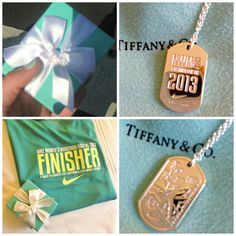 Goal: Run the Nike half marathon in 2014 and get my necklace!
