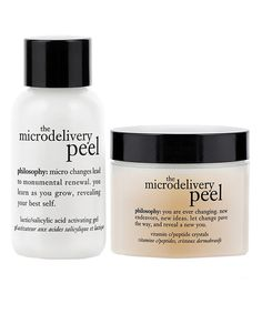 This philosophy Microdelivery Peel Set by philosophy is perfect! #zulilyfinds