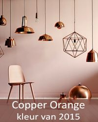 Copper orange trendkleur 2015 on pinterest 23 pins for Interieur kleurencombinaties