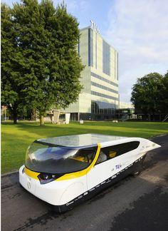 Solar Team Eindhoven, Stella, 2013. Photo Bart van Overbeeke/TU Eindhoven