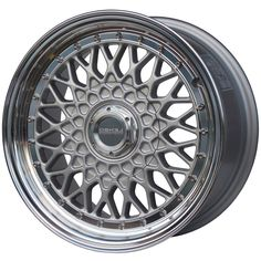 LENSO BSX SILVER  MIRROR LIP alloy wheels with stunning look for 4 studd wheels in SILVER  MIRROR LIP finish with 15 inch rim size