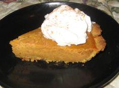 Pumpkin Gooey Butter Cake...shows as a pie, but think I'd do the 9x13 pan...will try anything pumpkin