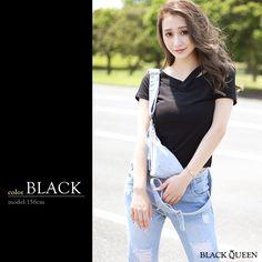 6305be5dd00fb3 デコルテデザインVネックトップス|レディースギャルファッション通販BLACKQUEEN-ブラッククイーン公式
