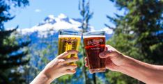 Mt Begbie Brewing: the perfect beer for your adventures - Tourism Revelstoke Beer Pairing, Brewing, Tourism, The Incredibles, Adventure, Mugs, Eat, Turismo, Tumblers