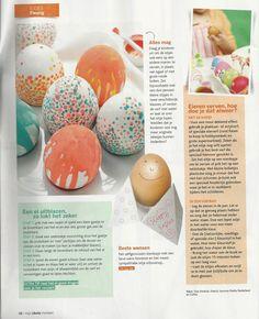 Eitjes uitblazen en verven Eggs, Easter, Easter Activities, Egg, Egg As Food