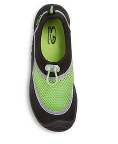 C9 by Champion Youth Unisex Boys Black & Green Peter Water Shoes Aqua Sock - NWT #C9byChampion #WaterShoes