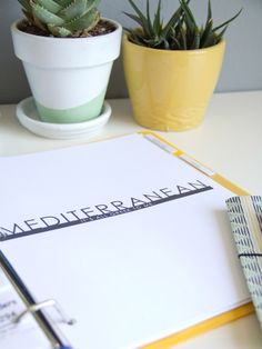 DIY Printable Take-Out Menu Organizer | Lovely Indeed