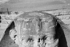 THE GREAT SPHINX: a hole in the Head (now cemented since 1925). What was it purpose?