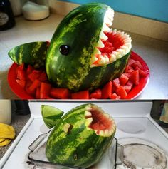 Not all watermelon sharks need to look like models. | 18 Heroes Who Are…