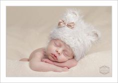 Newborn Bear Hat. Baby Bear Chin Strap Hat. by verityisabelle, £27.99