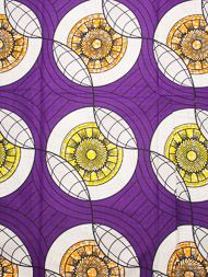 African Fabric Super Deluxe Wax Print