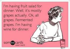 Grapes. Wine. Eh, same thing. :)