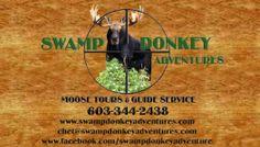 Swamp Donkey Adventure business card