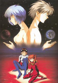 Kaworu-Rei Neon Genesis Evangelion Picture
