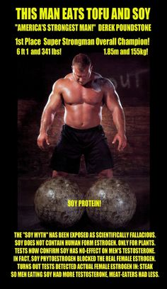 Derek Poundstone and Soy Protein