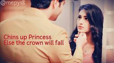 Indeed she is his princess