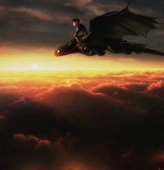 Toothless Lost | How To Train Your Dragon 2. Beautiful pic.