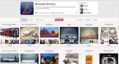Brussels airlines deelt op hun pinterest pagina verschillende 'inspirerende' plaatjes en quotes die te maken hebben met reizen. Ook foto's van achter de schermen worden op deze pinterest gedeeld. Ook fans kunnen hun foto's toevoegen, maar hier is nog niet echt gebruik van gemaakt. Misschien een idee voor Brussels airlines om dit meer te promoten/hier een wedstrijd aan te kopen?   http://pinterest.com/flyingbrussels/