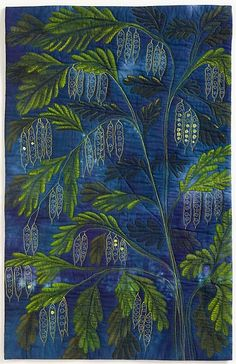 Nancy Cook - Fiber Art, Mixed Media and Art Quilts - Portfolio: Trees